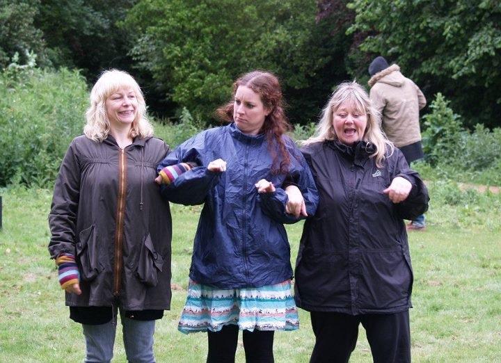 Wet Weather Rehearsals!