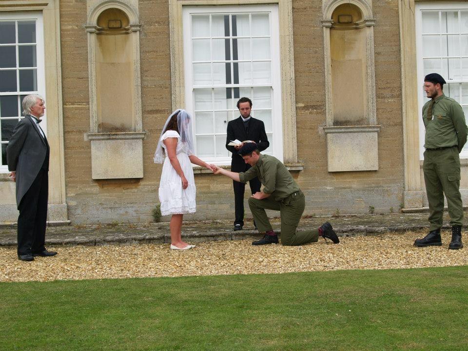 Second Chance Wedding Hinwick House