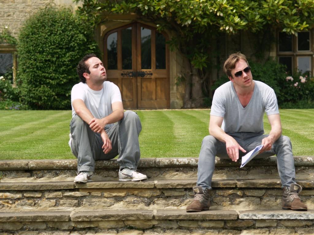 Matt Ingarfield & Jonathan Hooley Rehearsing at Tofte